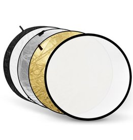 Godox Godox 5-in-1 Gold, Silver, Black, White, Translucent 110cm