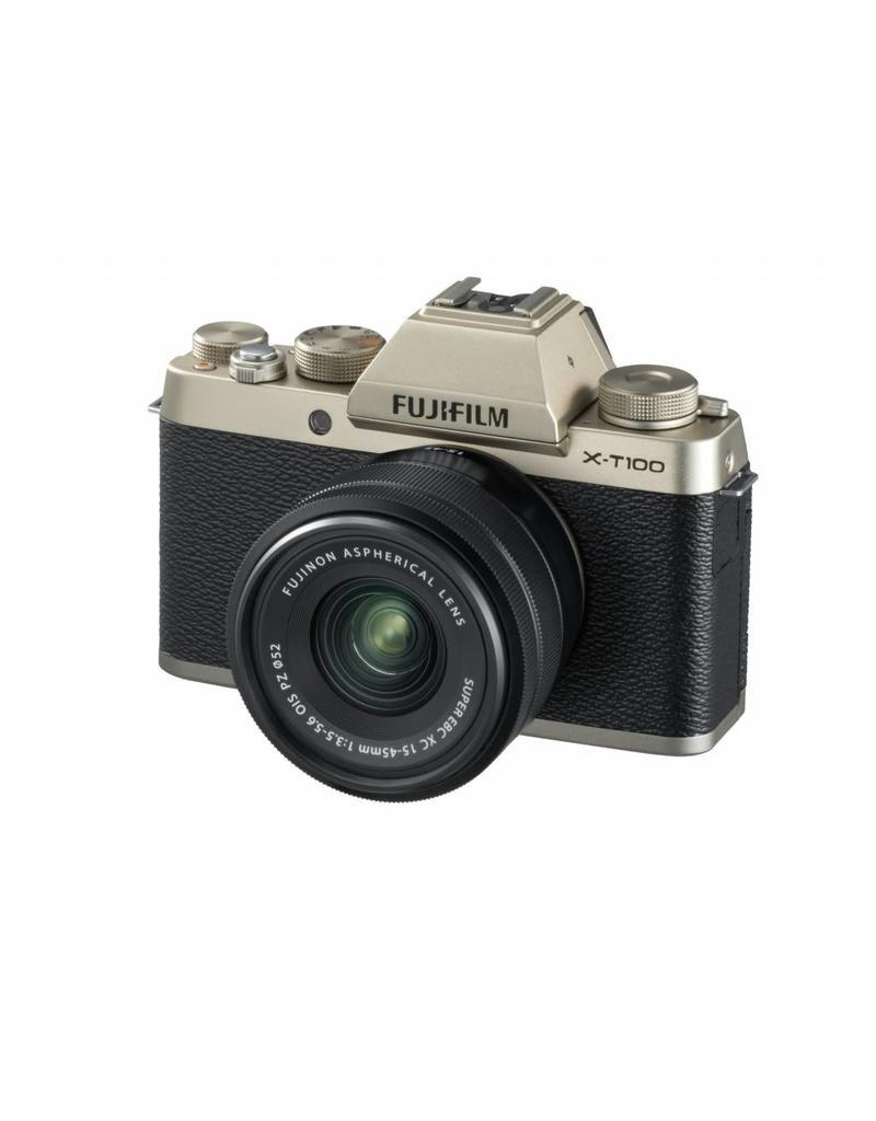 Fujifilm Fujifilm X-T100 Gold KIT + XC15-45mm