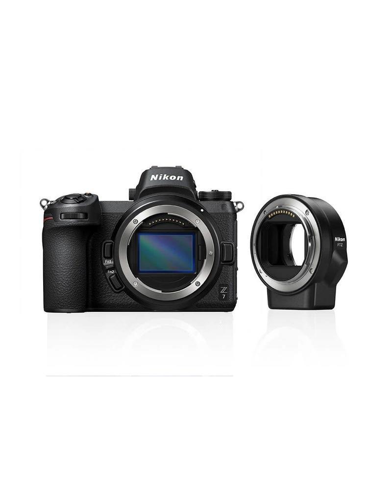 Nikon Nikon Z7 + FTZ Adapter KIT + GRATIS XQD64GB