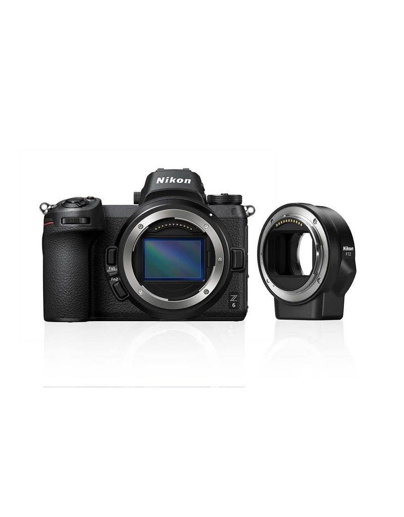 Nikon Nikon Z6 + FTZ Adapter KIT