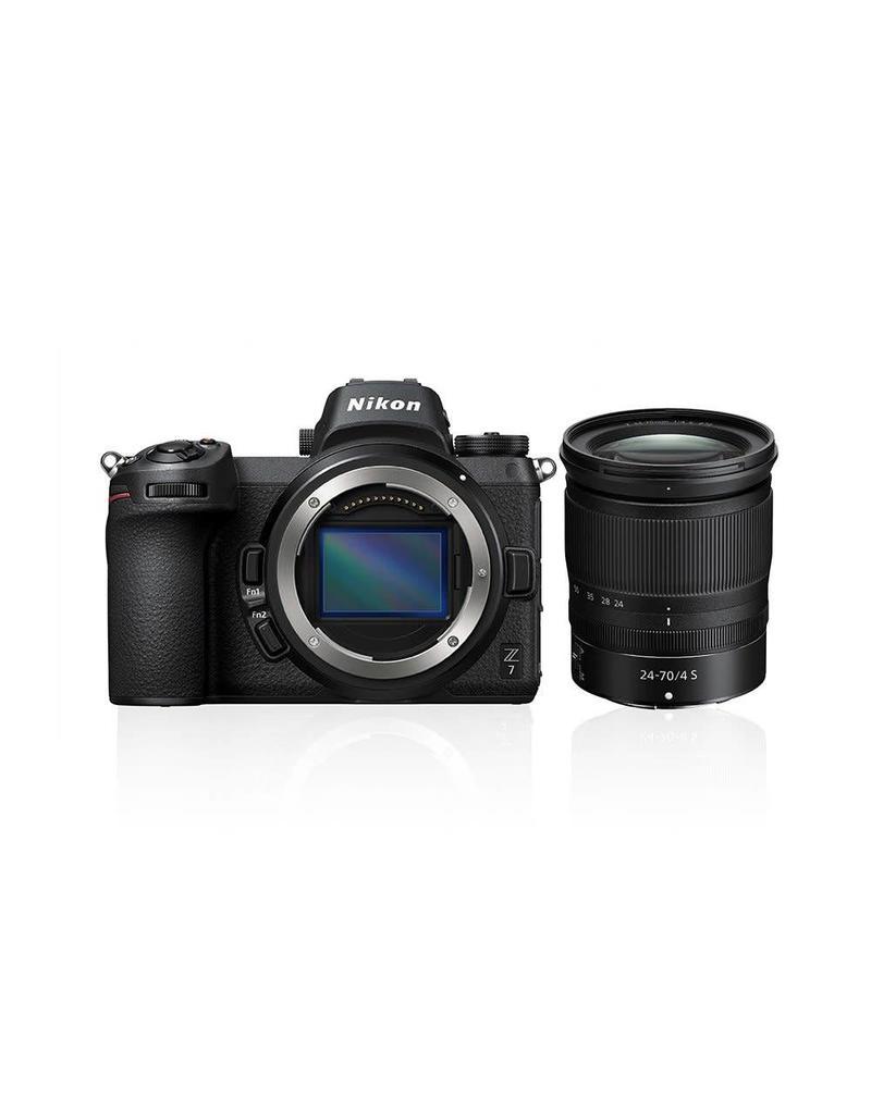 Nikon PREORDER Nikon Z7 + 24-70mm f4 KIT + GRATIS XQD64GB