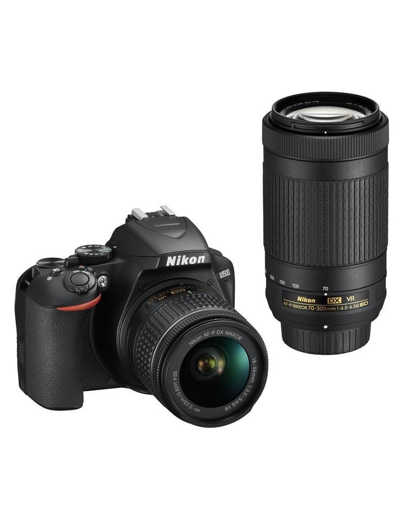 Nikon Nikon D3500 + AF-P 18-55VR + AF-P DX 70-300