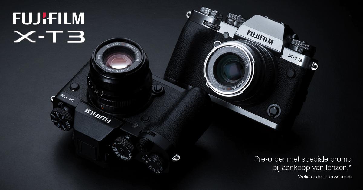 Fujifilm X-T3 promotie