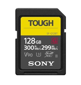 Sony Sony ProSD Tough - 128GB UHS-II R300 W299 - V90