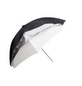 Godox Godox Dual Duty Paraplu Zwart/Zilver/Wit 101cm