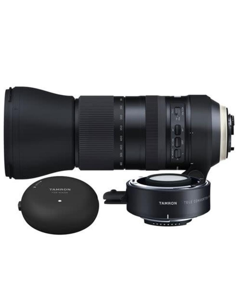 Tamron Tamron SP 150-600mm f/5.0-6.3 Di VC USD G2 Nikon + 1.4x Converter + Tap-in Console