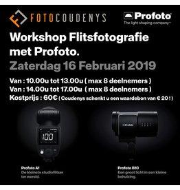 Profoto Flitsfotografie met Profoto - Zat 16/2, 10-13u