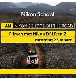 """Nikon School """"Filmen met Nikon"""" 230319"""