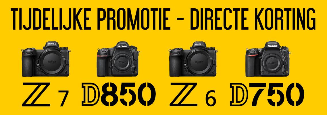 Nikon Directe Korting Promotie