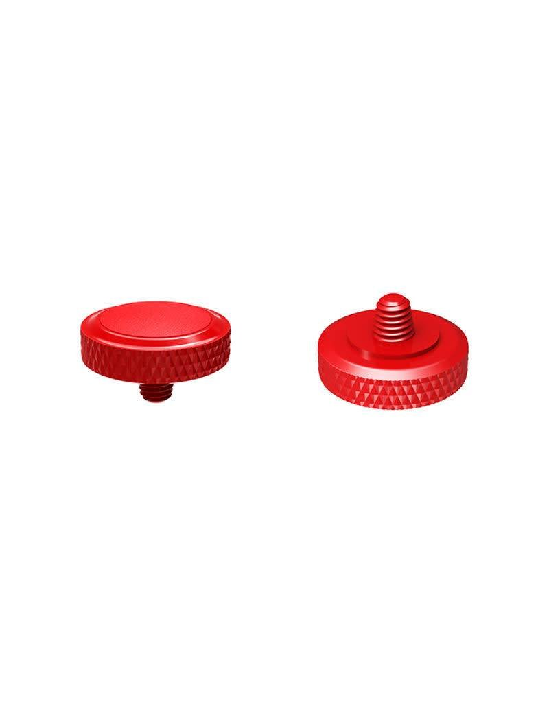 JJC JJC Deluxe Soft Release Button SRB R Rood