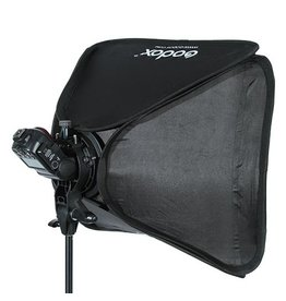 Godox Godox S-type Bracket Bowens + Softbox 50x50cm