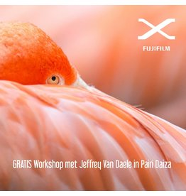 Fujifilm Workshop GRATIS met Jeffrey naar Pairi Daiza