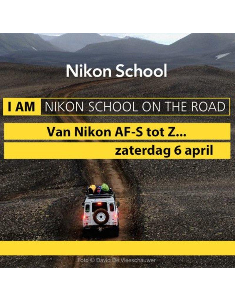 """Nikon Nikon School """"Van AF-S tot Z..."""" 060419"""