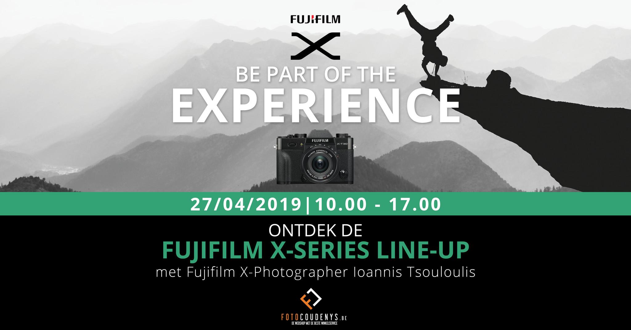 Fuji demo x-series