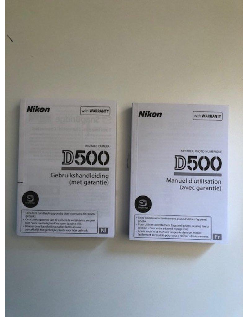 Nikon 2dehands Nikon D500 body