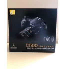 Nikon 2dehands Nikon D500 + 16-80