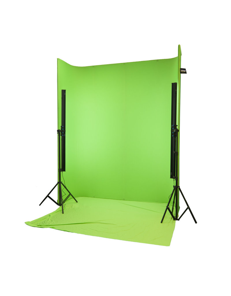Ledgo Ledgo Green Screen achtergrondsysteem U Shape LG-1822U