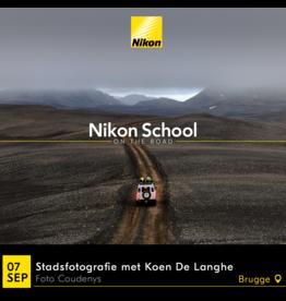 """Nikon Nikon School """"Stadsfotografie met Koen De Langhe"""" 070919"""