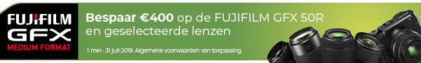 Fujifilm GFX Promotie
