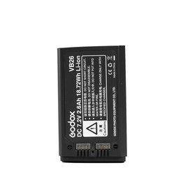 Godox Godox Batterij voor V1 & V860III (VB26)