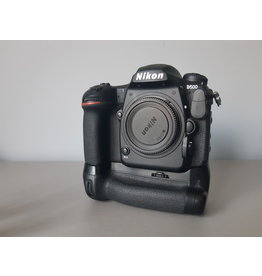 Nikon 2dehands Nikon D500 + grip + 4 batt
