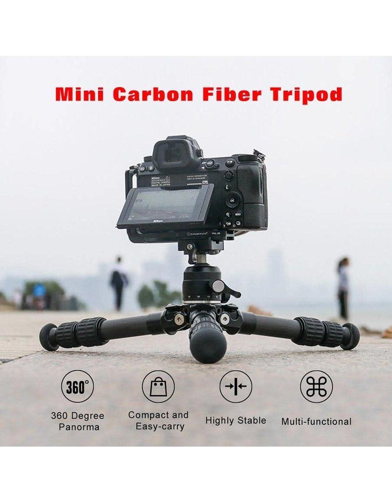 Sunwayfoto Sunwayfoto Carbon macrostatief T1C30N