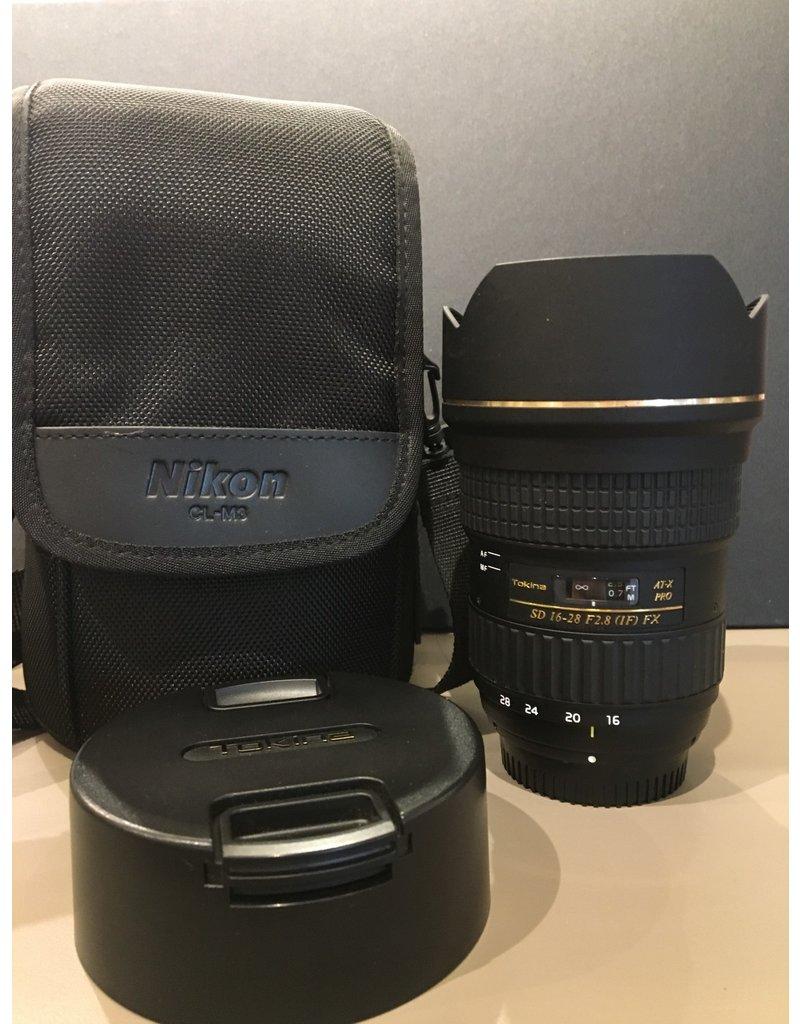 2dehands Tokina 16-28 F2.8 voor Nikon FX