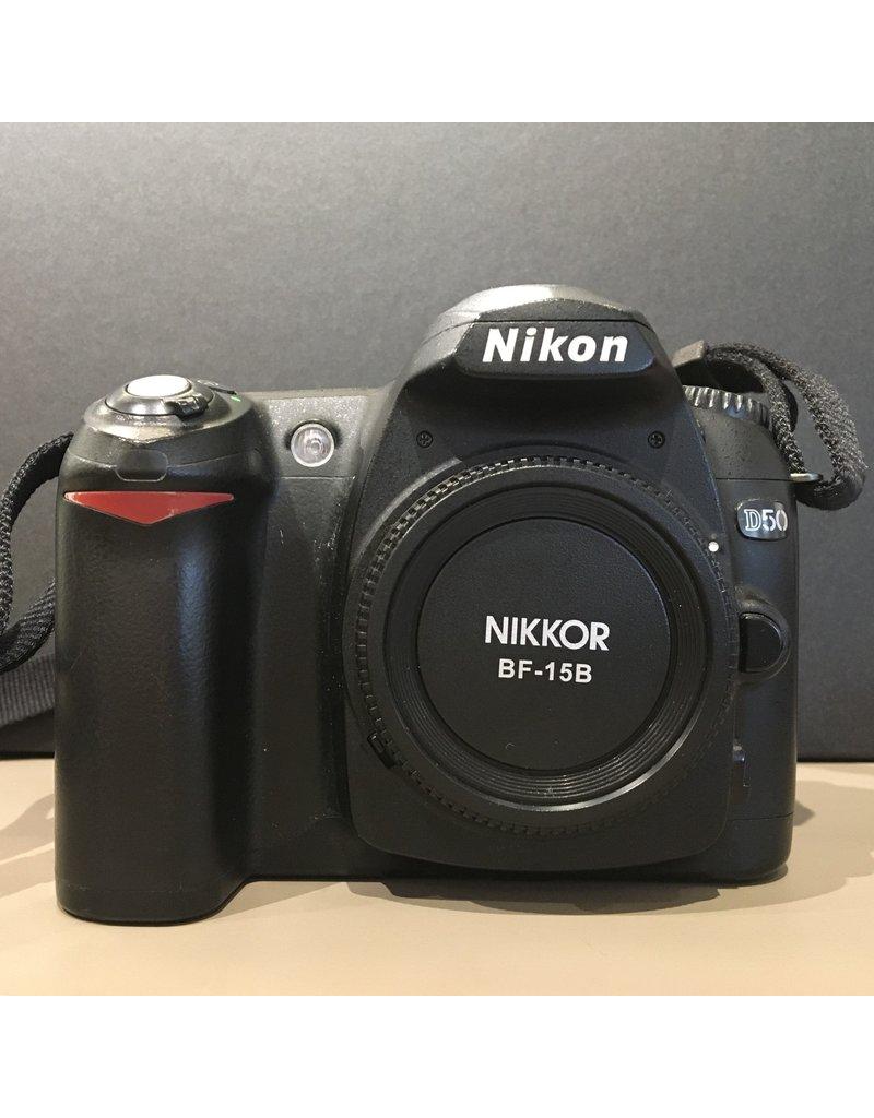 Nikon 2dehands Nikon D50 body