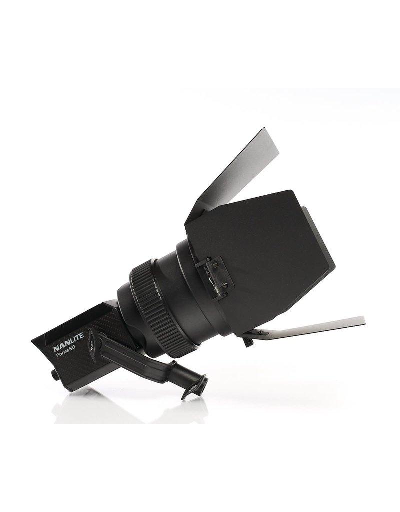 Nanlite Nanlite Fresnel Lens w/ Barndoors for Forza 60