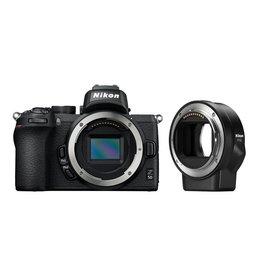 Nikon Nikon Z50 + FTZ mount adapter