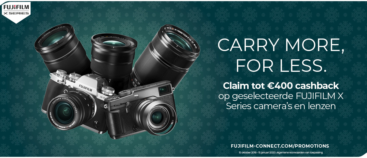 Fuji Cashback Promotie