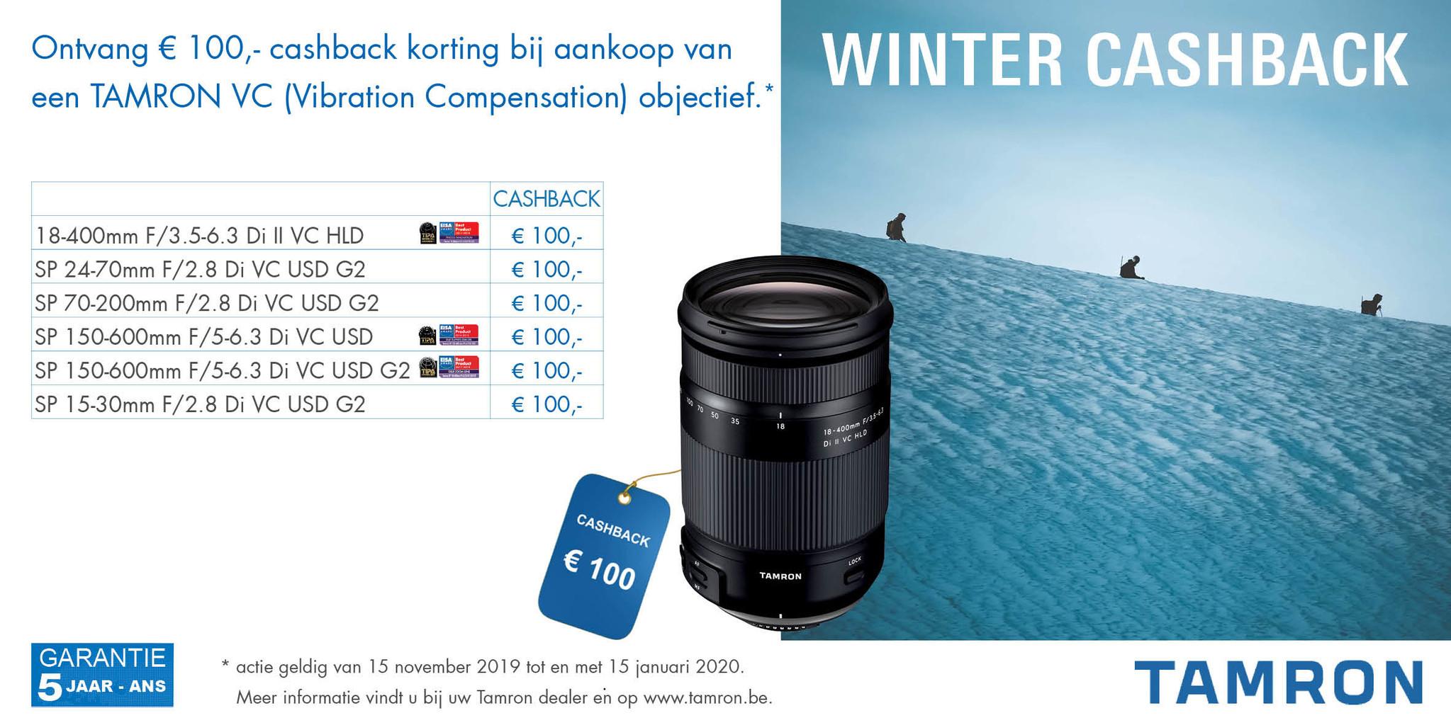 Tamron Winter Cashback