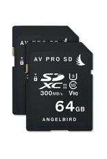 Angelbird Angelbird AVpro SDXC UHS-II V90 64GB 2-pack