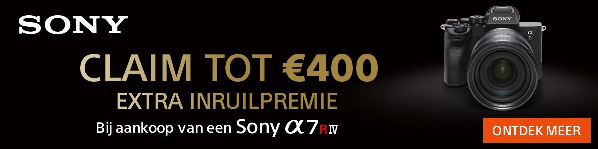 Directe korting op Sony A7RIV