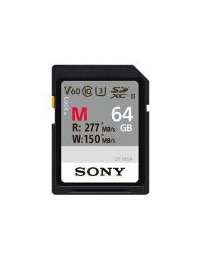Sony Sony SDXC UHS-II 64GB R277 W150