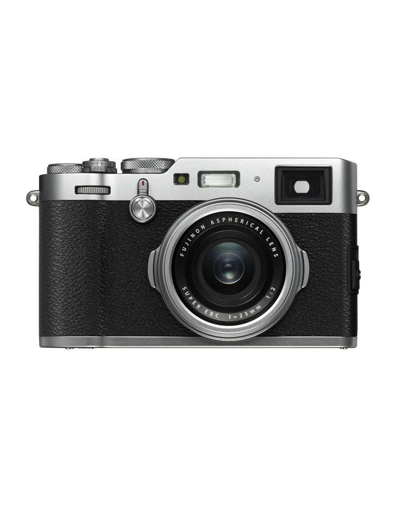 Fujifilm Fujifilm X-100F Silver DEMO + leather case
