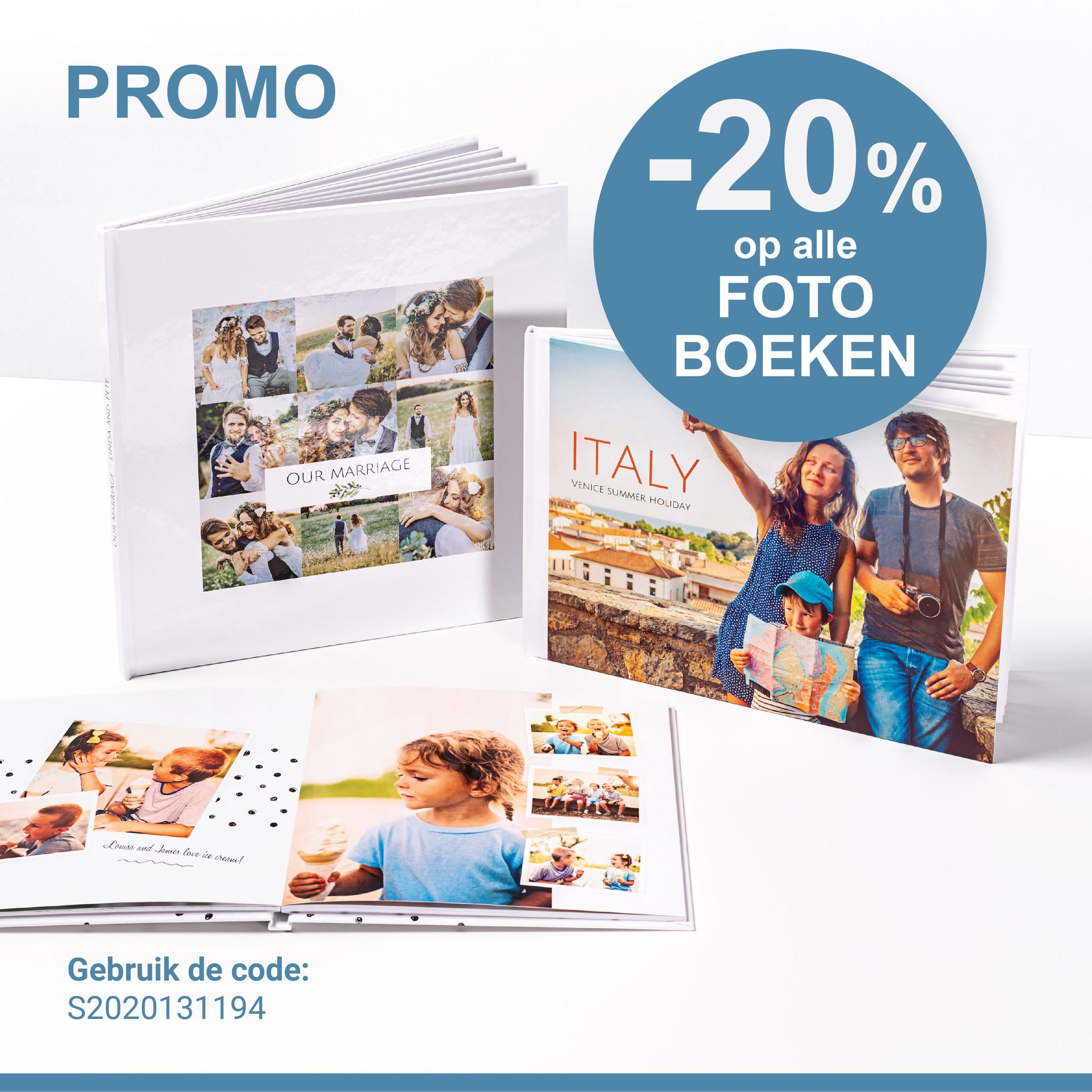 Promo fotoboeken