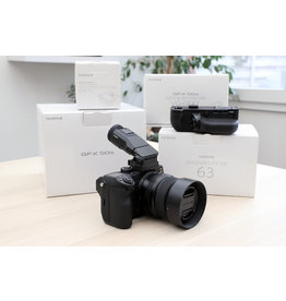 Fujifilm 2dehands Fujifilm GFX50s + GF63 + acc
