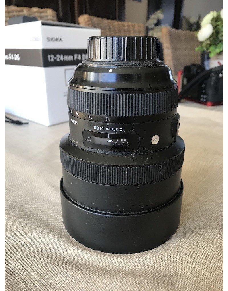 Sigma 2dehands Sigma 12-24mm F4 DG HSM Art Nikon