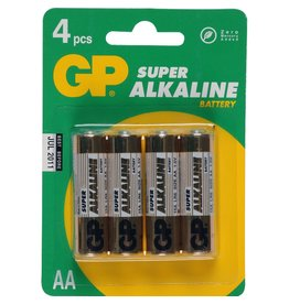 GP GP AA Super Alkaline 4-pack