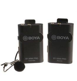 Boya Boya 2.4 GHz Duo Lavalier Microfoon Draadloos BY-WM4 Pro-K1