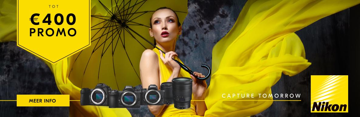 Nikon Z promotie