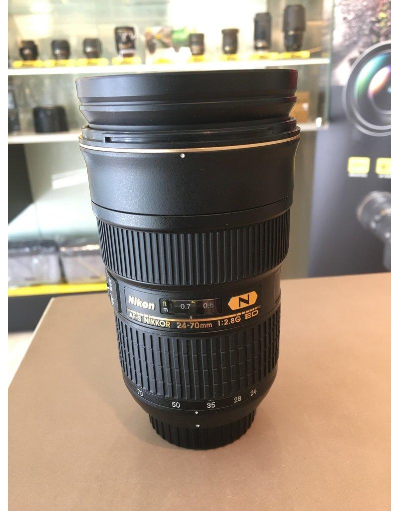 Nikon 2dehands Nikon AF-S 24-70mm/F2.8G ED