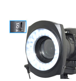 JJC JJC LED-48IO Macro LED Right Light Ringflitser