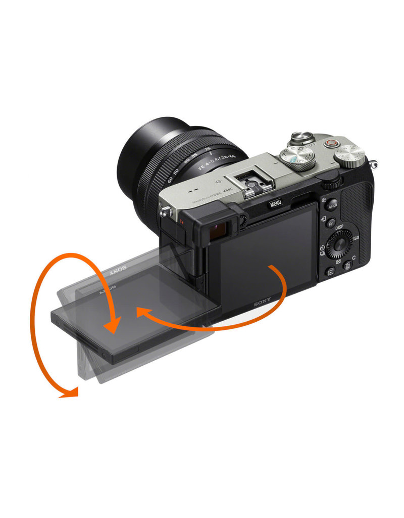 Sony Sony A7C + 28-60 zilver