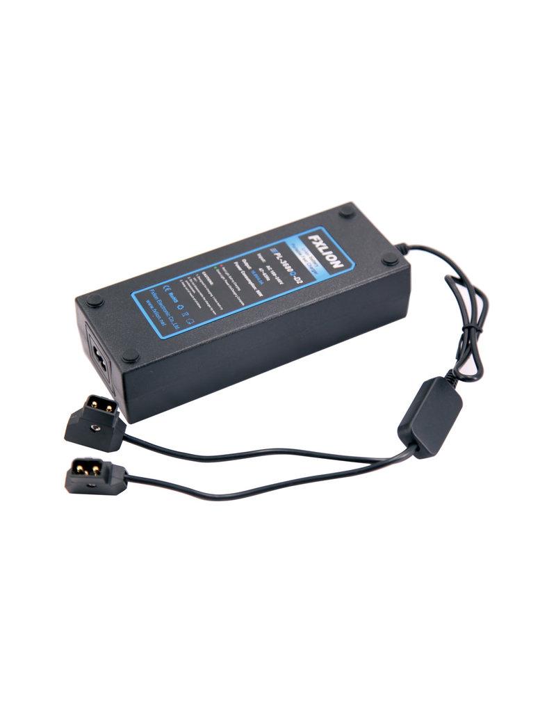 FXLion FXLion dual V-lock charger / AC adap. for BPM series (D-tap)