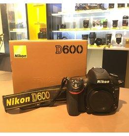 Nikon 2dehands Nikon D600 body