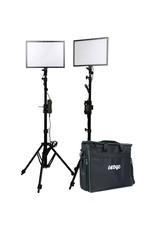 Ledgo Ledgo E268CII Bi-Color kit w/light stands - 2 lights