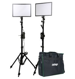 Ledgo Ledgo E268CII Bi-Color kit w/light stands - 2 lights