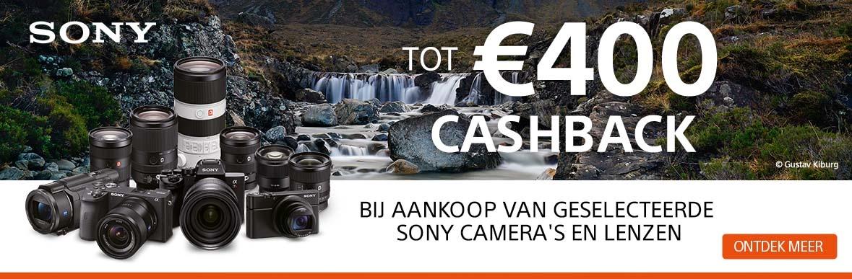 Sony cashback promotie korting